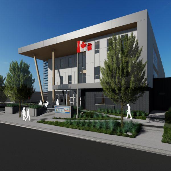 RCMP building Fort St. John