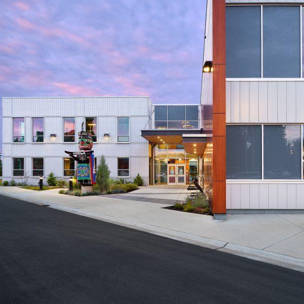 CVRD Admin building entry
