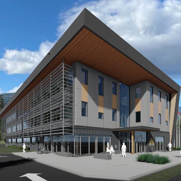 North Cowichan RCMP rendering - southeast
